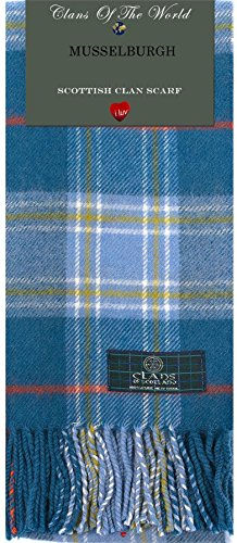 I Luv Ltd Musselburgh Tartan Clan Scarf 100% Soft Lambswool
