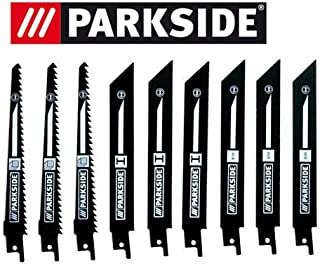 comprar comparacion Parkside Juego 9pieza hojas de sierra para sierra de sable pssa 18A1–Lidl Ian 1044473x Madera, 3x metal, 3x bimetal