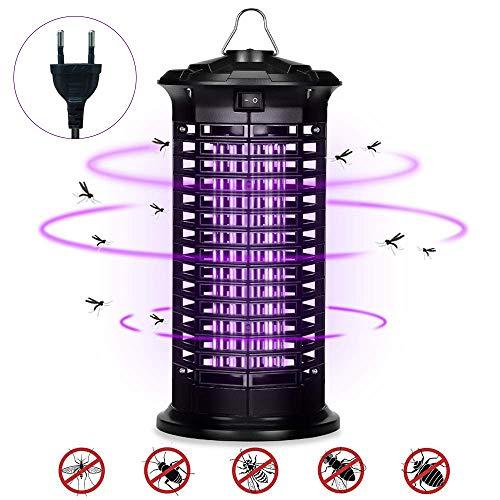 Xchingwan Electronic Mosquito Killer Lamp, Outdoor Outdoor Insect Killer, Mosquito Trap, Bug Zapper con luz UV, Luces de camping para acampar Senderismo Pesca