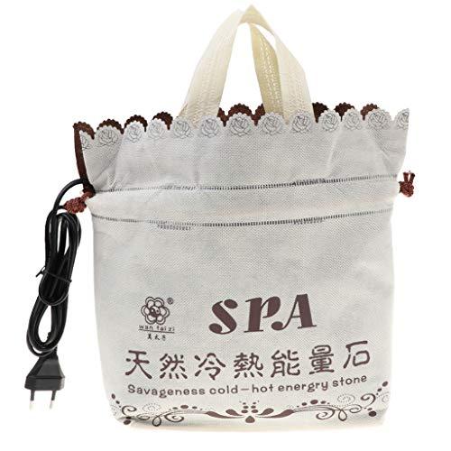 Bolsa de Calor Masaje con Piedras Calientes SPA para Calentar Cuerpo EUPlug