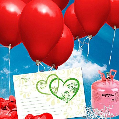 galleryy.net 100 Ballonflugkarten zur Hochzeit Flugkarten für Hochzeitsballons