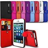 HTC Desire 610 Premium PU Leather Wallet Flip Skin Case