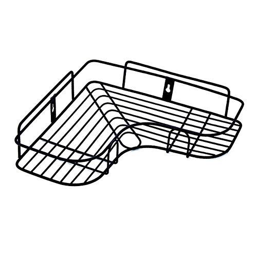 HaiYushop badkamer plank douche frame gratis ponsen driehoek smeedijzer opslag rek badkamer muur opknoping Peg opslag rack - H7C