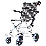 Wheelchair Fauteuil Roulant léger autopropulsé Pliable de Transport de...