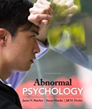 Best butcher abnormal psychology 15th edition Reviews