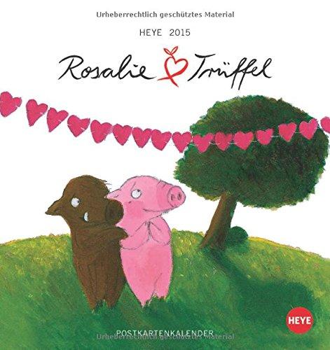 Rosalie & Trüffel Postkartenkalender 2015