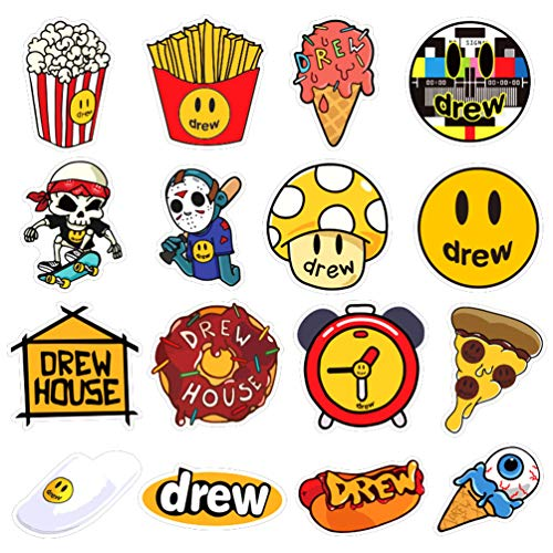 Mac Book JUZIPI Laptop Stickers 50PCS Outer Waterproof Aesthetic Bottle Sticker Pack Stickers Cars Vinyl Stickers for Pad Phone Car