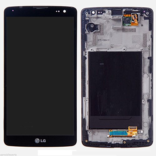 ePartSolution-OEM LG G Vista D631 VS880 LCD Display Touch Digitizer Screen Assembly Black with Housing Frame Replacement Part USA Seller