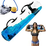 POIUYT Fitness Aqua Bag Power Bag 25 kg Sandbag Alternative Aqua Bag Regolabile Home Gym per Pesi Palestra Portatile Peso Borsa Attrezzature per Il Fitness di stabilità
