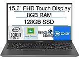 Newest ASUS VivoBook 15.6' FHD Touchscreen Laptop, Intel i3-1005G1 up to 3.4GHz, 8GB DDR4 RAM, 128GB SSD, Fingerprint Reader, WiFi,HDMI, Windows 10 S + AllyFlex Mouspad