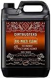 Limpiador Dirtbusters ecológico multisuperficies, biodegradable. Concentrado de 5 l.