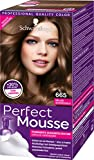 Schwarzkopf Perfect Mousse Permanente Schaumcoloration, 665 Helles Schokogold Stufe 3, 3er Pack (3 x...