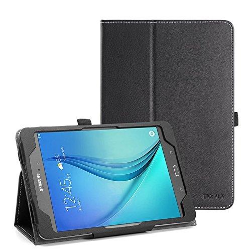 WOFALA Funda para Samsung Galaxy Tab S2 8.0, ultra delgada, ligera, con función atril para tablet Samsung Galaxy Tab S2 de 8 pulgadas, color amarillo