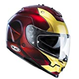 HJC Casque de Moto IS-17 IronMan MC1, Rouge, Taille S