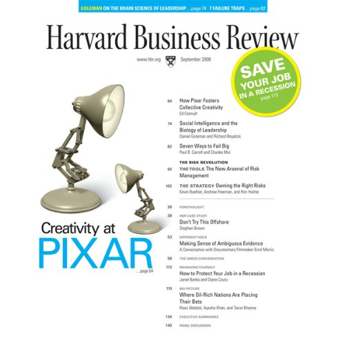 Harvard Business Review, September 2008 audiobook cover art