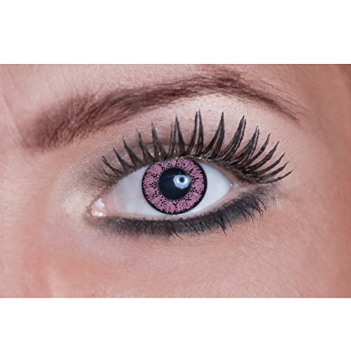 Eyecatcher Natural Color Fun Tone - farbige Kontaktlinsen - pink Panther - 2 Stück (1 Paar)
