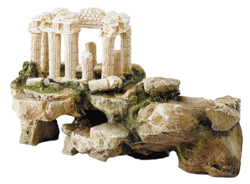 Europet Bernina 234-105597 Decor-Akropolis auf Felsen 34.5 x 25 x 20 cm