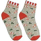 GRUSS und CO 49844, Socken mit Motiv Ho, Größe 41-46 Zaubersocken, Mehrfarbig
