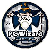 PC Wizard - Automatic Drivers Recovery Restore Update for eMachines Computers (Desktops and Laptops) on DVD Disc - Supports Windows 10, 8.1, 7, Vista, XP (32-bit & 64-bit)