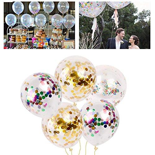 OPUSS-11 KLEUREN Gouden folie Confetti Latex Ballonnen Helium Bruiloft Verjaardag Party Decor, Home Decor etc