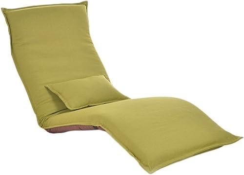 muchas concesiones Beanbag Beanbag Beanbag PHTW HTZ Lounger Sofa Recliner Chair Plegable Sofá Cama Balcón Bay Ventana Ocio Silla + (Color   verde Fruit.)  artículos de promoción