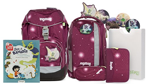 Preisvergleich Produktbild Unbekannt ergobag Pack Ranzenset Galaxy Edition mit Gratis Superbuch Bea Bahadir FeenzauBär
