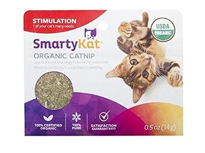 SmartyKat 0.5 oz Organic Catnip Pouch