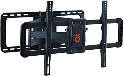 "ECHOGEAR Full Motion Articulating TV Wall Mount Bracket for 42""-80"" TVs - Easy to Install On 16"", 18"" or 24"" Studs & Features Smooth Articulation, Swivel, Tilt - EGLF2"