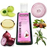 Moksha Onion Hair Oil for Hair Growth, Anti Hair-Fall & Anti Dandruff 100ml