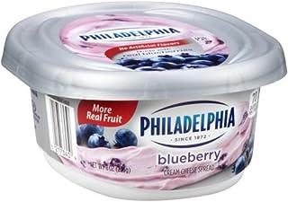 Philadelphia Blueberry Cream Cheese Spread, 8 Ounce -- 12 per case.