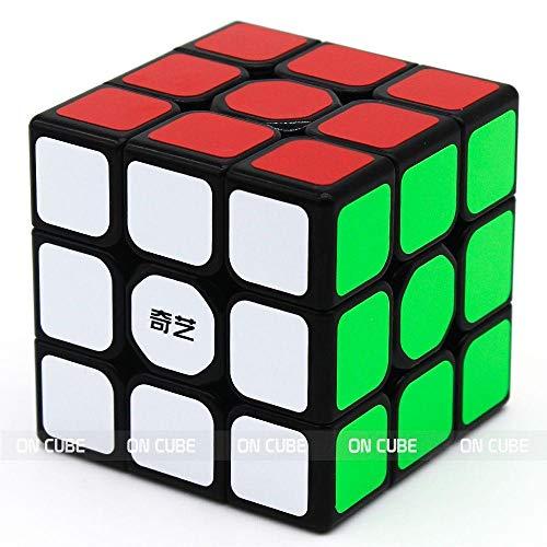 Cubo Mágico Profissional 3x3x3 Sail W Preto