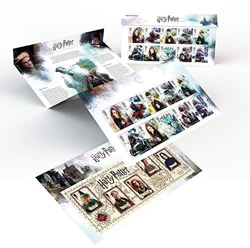 Harry Potter APR001 Affixed Stamp Presentation Pack