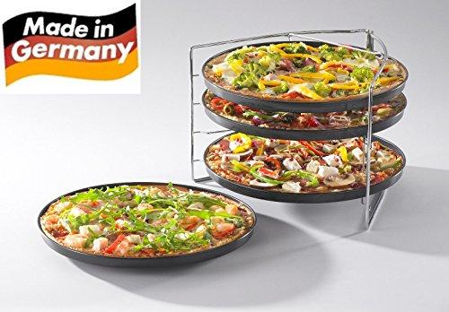 Fisko Pizza Backset 5tlg. - Qualität Made in Germany mit ILAG Antihaftbeschichtung