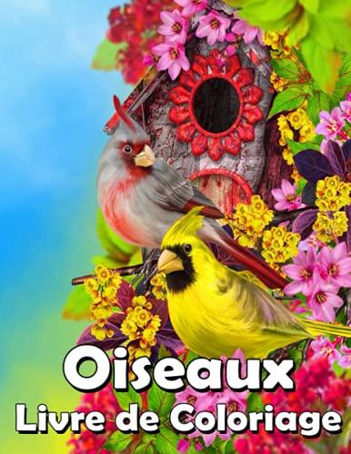 Oiseaux Livre de Coloriage: Un livre de coloriage pour adultes avec de belles maisons d'oiseaux et des scènes de nature relaxantes (Livres de coloriage d'oiseaux) !!