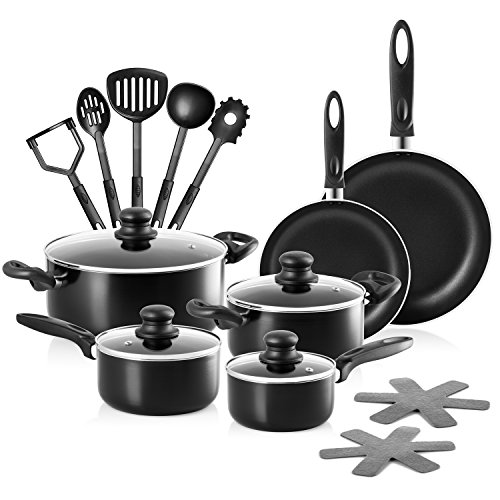 Chef's Star Ensemble de casseroles et poles en...