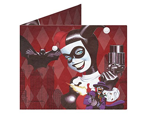Dynomighty Design DC Heroes Harley Quinn Made Love Mighty Wallet