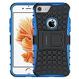 ALDHOFA iPhone 7 Case, Heavy Duty Design Shockproof
