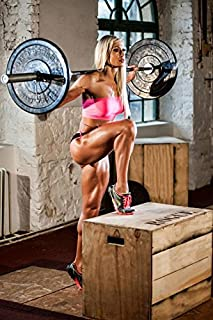 Tomorrow sunny 24X36 INCH / BodyBuilding Fitness Motivational Art Silk Poster Gym Picture For Wall Decor 11