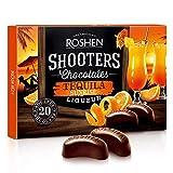 Bombons Recheados com Licor de Tequila - Shooters Chocolates - Hungria