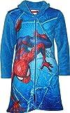 Marvel HS2055 Spiderman - Albornoz para niño (Forro Polar)