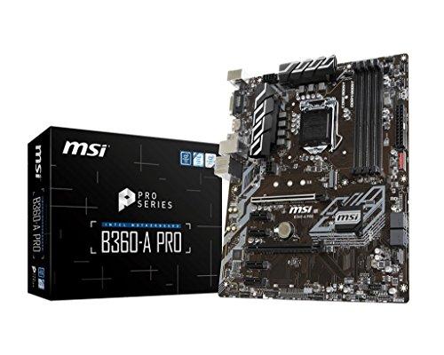 MSI B360-F Pro Placa Base, B360-A Pro, ATX