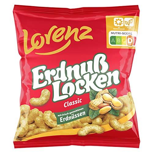 Lorenz Snack World Erdnußlocken Classic, 20er Pack (20 x 30 g)