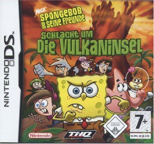 Sponge Bob Vulkaninsel DS Schlacht um die Vulkaninsel [import allemand]
