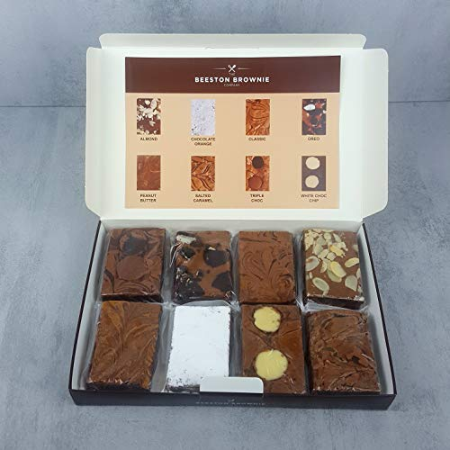 Assorted Chocolate Brownie Gift Box by The Beeston Brownie Company -...