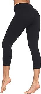 High Waisted Leggings for Women - Soft Workout Running Yoga Tummy Control Slim Pants - Reg & Plus Size