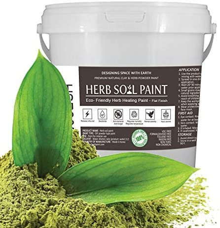 Herb Soil Powder Paint Raleigh Mall - M Organic Eco-Friendly Special price for a limited time Non-Toxic