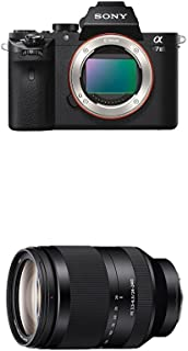 Sony Alpha a7II Interchangeable Digital Lens Camera - Body Only with Sony SEL24240 FE 24-240 mm f/3.5-6.3 OOS Standard-Zoo...