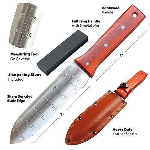 Black Iron Attican Hori Hori Garden Knife