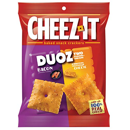 CheezIt Duoz Bacon & Cheddar (Pack of 6)