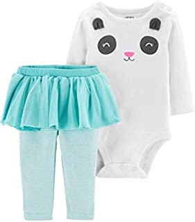 Carter's Baby Girls' Bodysuit Pant Sets